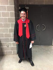 Brady at Graduation